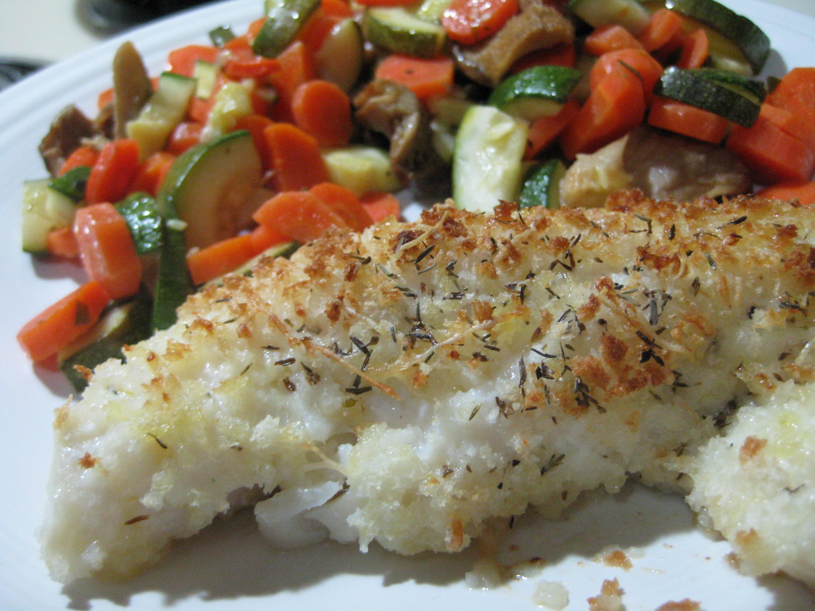 Baked Panko Breaded Haddock | Relishments