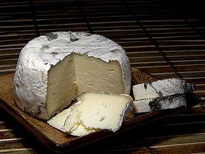 St Pat Goat's Milk Cheese.