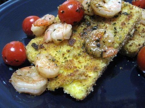 polenta shrimp and tomatoes