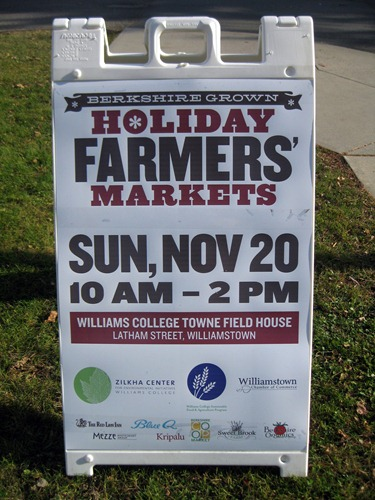 holiday farmer's market