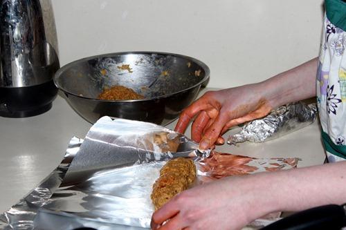 sausage prep