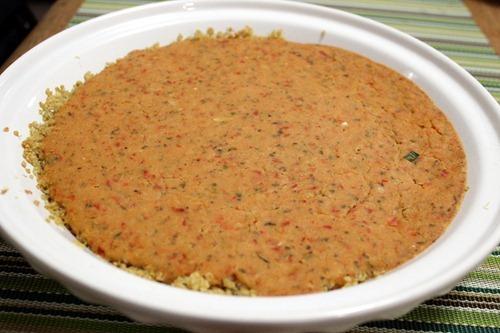 quinoa crust tart