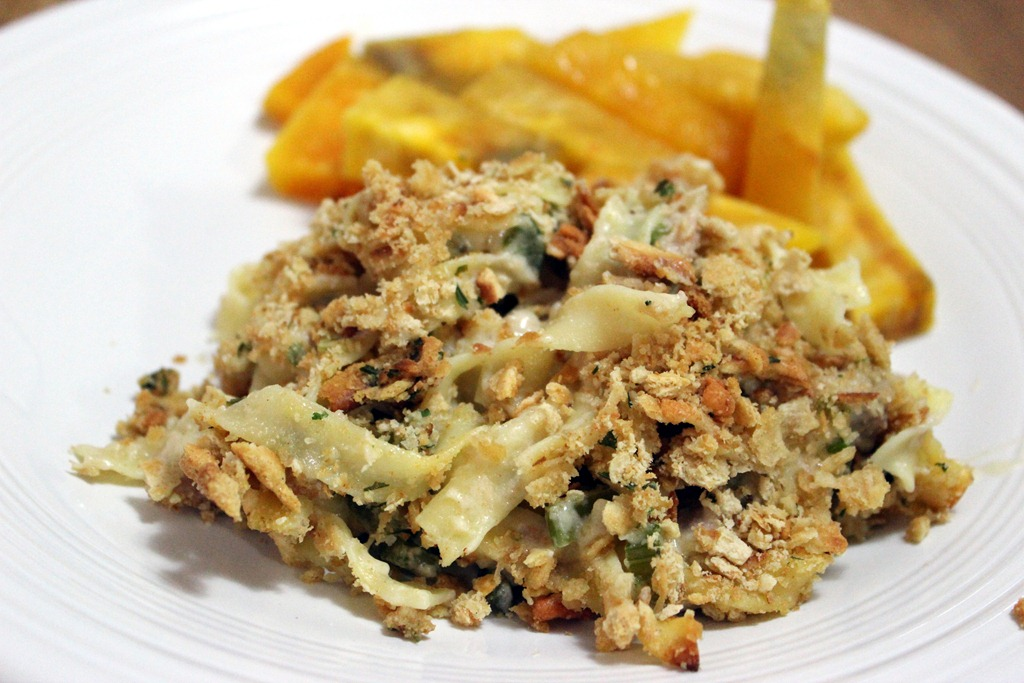 Tuna Noodle Casserole Recipe — Dishmaps
