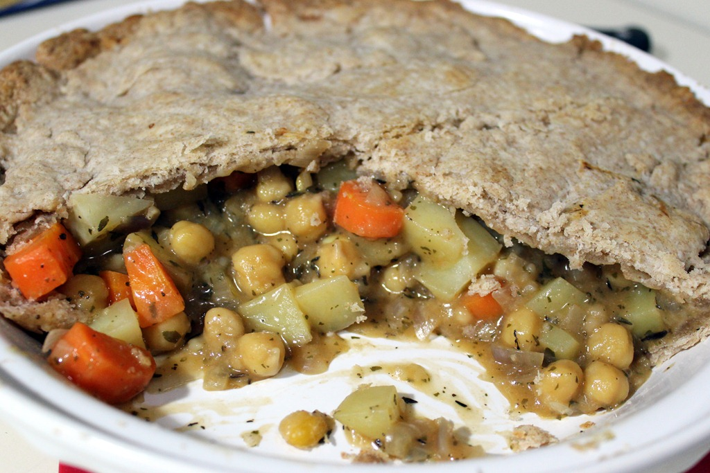 Chickpea Pot Pie and the Perils of Recipe Creation