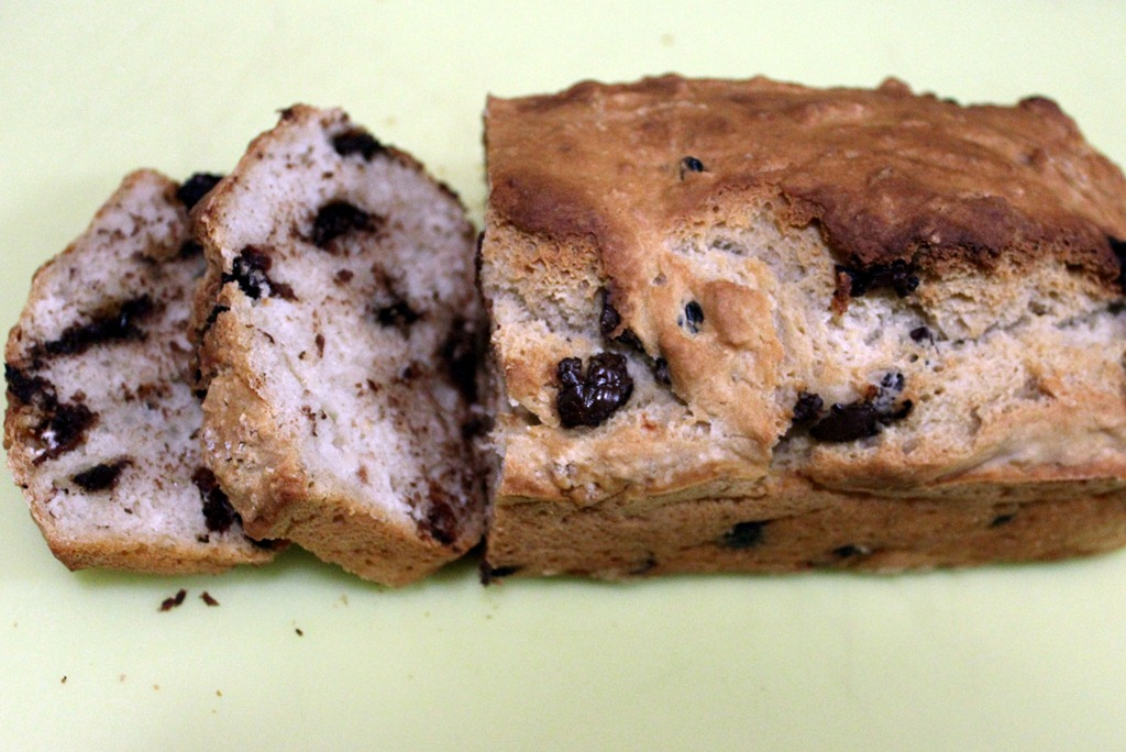 Chocolate Cherry Beer Bread