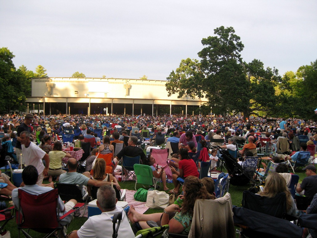 74 go to a performance at tanglewood relishments for The tanglewood