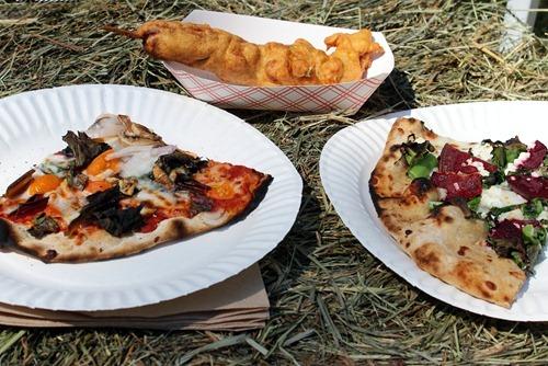 garlic festival lunch