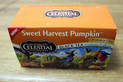 sweet harvest pumpkin tea