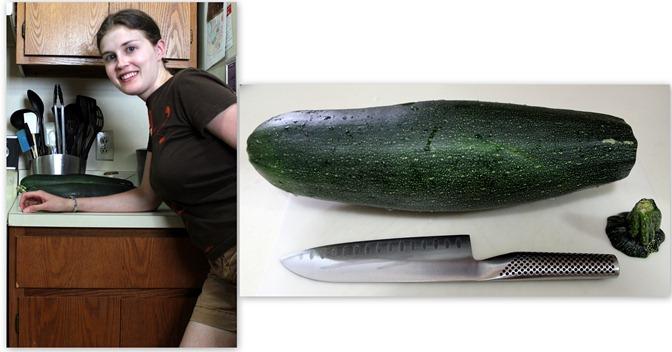 zucchini size