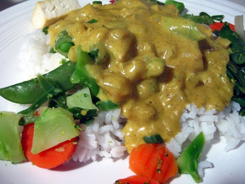 simple curry sauce