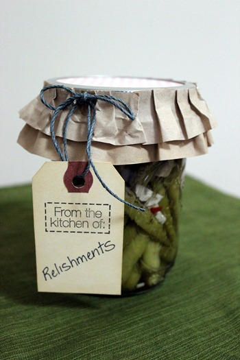 pickled green beans 2012