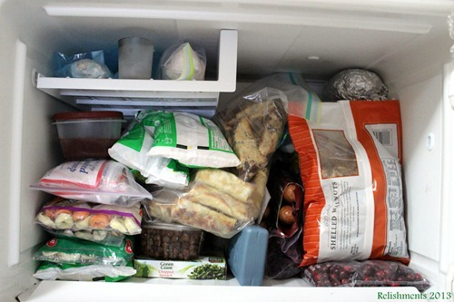 freezer space