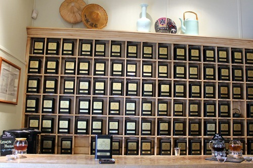 harney tasting room