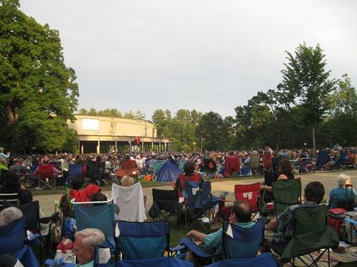Tanglewood concert 2012