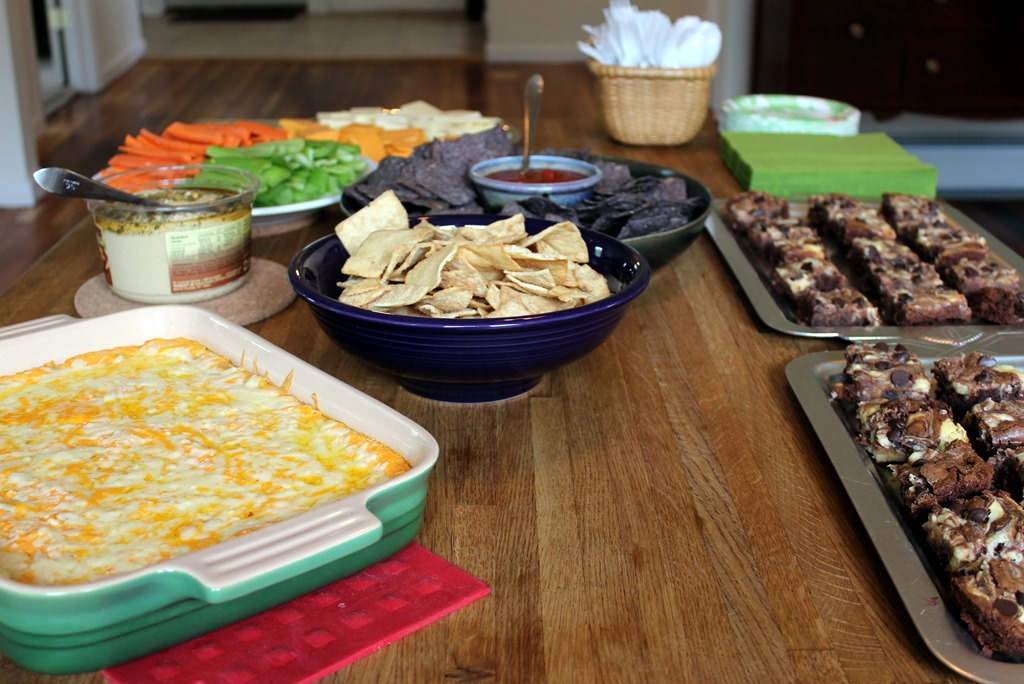 The housewarming relishments for Finger food ideas for housewarming party