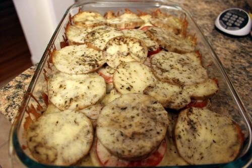 Early Fall Vegetable Bake