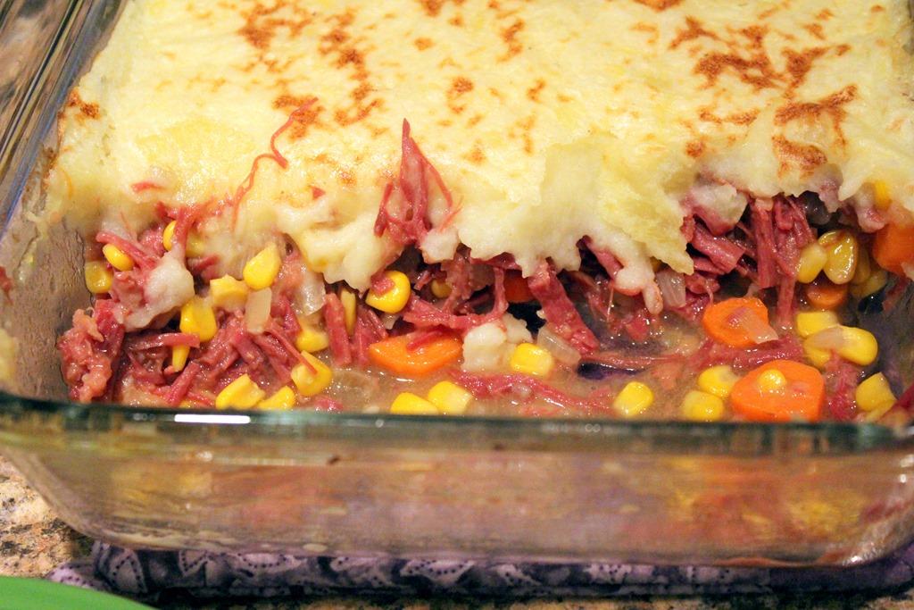 Corned Beef Shepherd's Pie