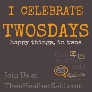 Twosday Link-ups on Then Heather Said