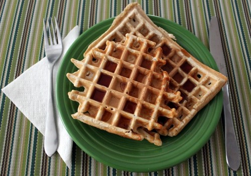 Pantry Meal: Whole Wheat Waffles