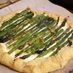 Asparagus Goat Cheese Galette (Recipe Review)