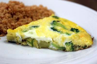 Broccoli and Potato Frittata