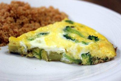Broccoli and Potato Frittata | Relishments