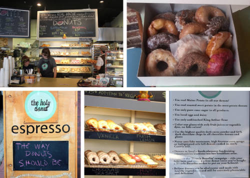 Portland Food Adventures: The Holy Donut and Duckfat