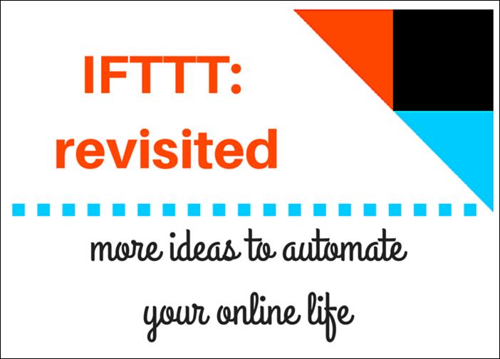 IFTTT revisited