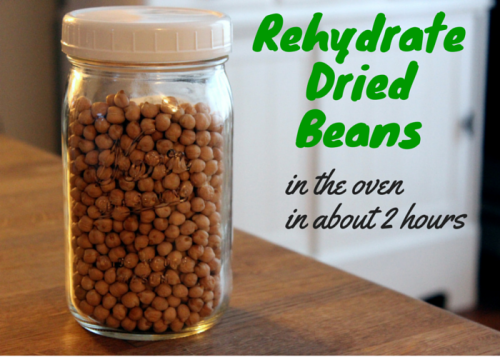 How I Rehydrate Dried Beans