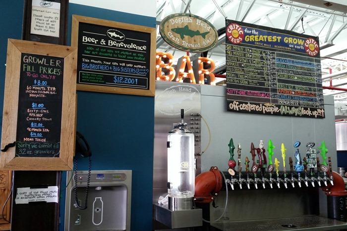 dogfishhead tasting room