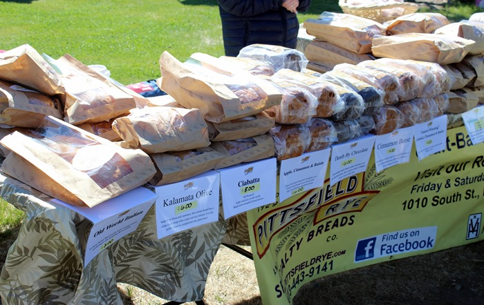 Pittsfield Rye at the Pittsfield Farmers Market