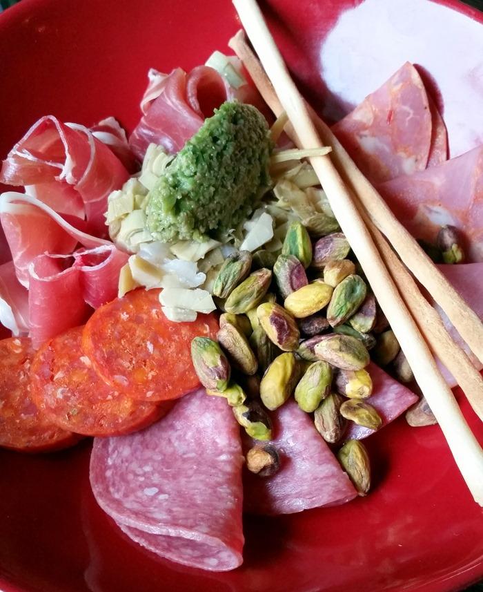 NoCo Pastaria Salumi Plate appetizer