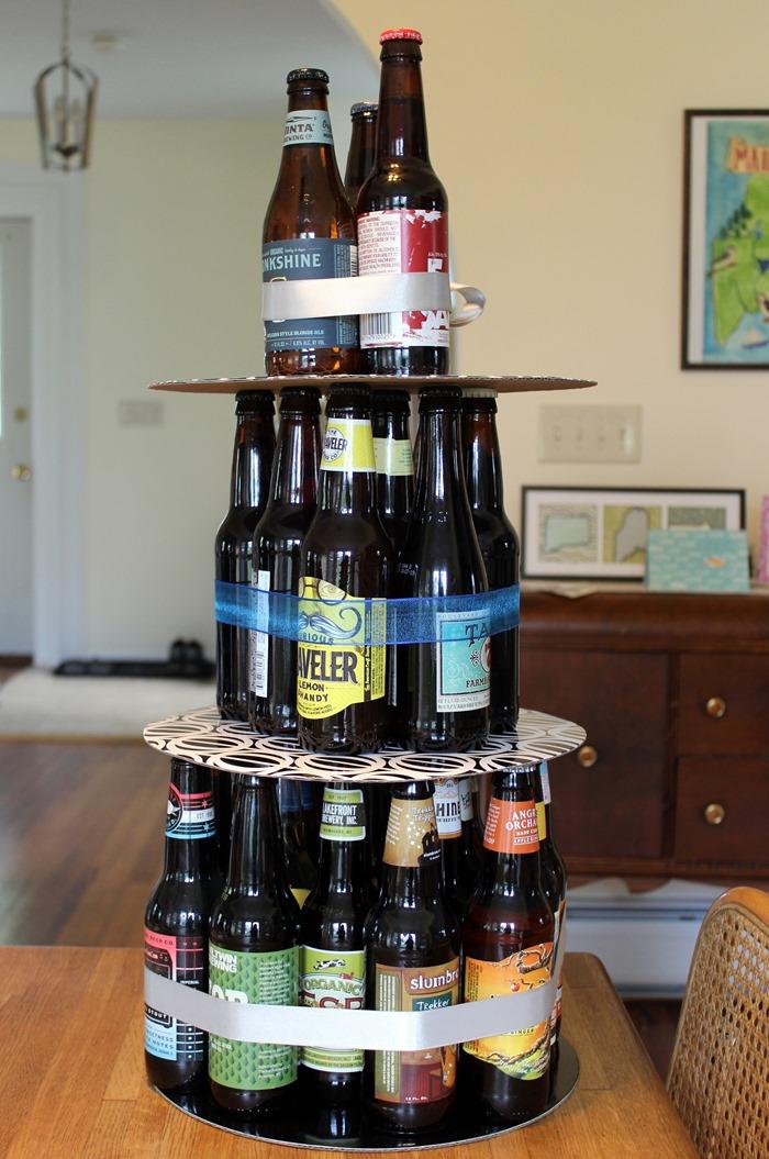 Birthday Cake Beer Bottle