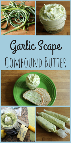 Garlic Scape Compound Butter - Relishments