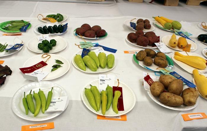 Aggie Fair produce entries