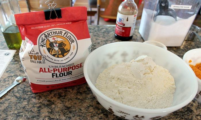 King Arthur flour for baking contest