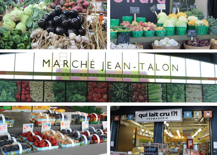 Marche Jean-Talon collage