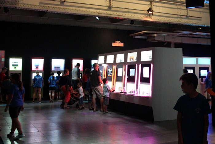 Montreal Science Center Game On Exhibit