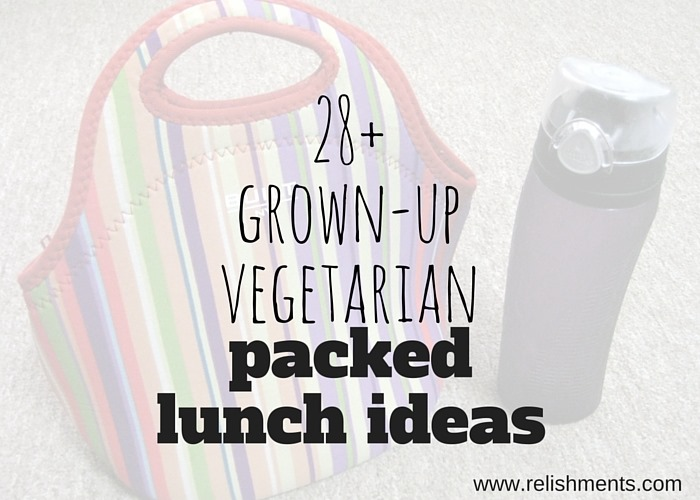 grown up vegetarian packed lunch ideas