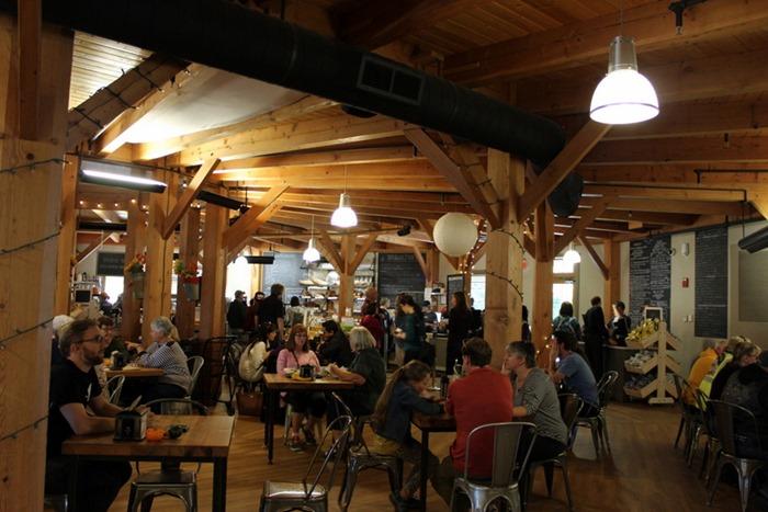KAF cafe area