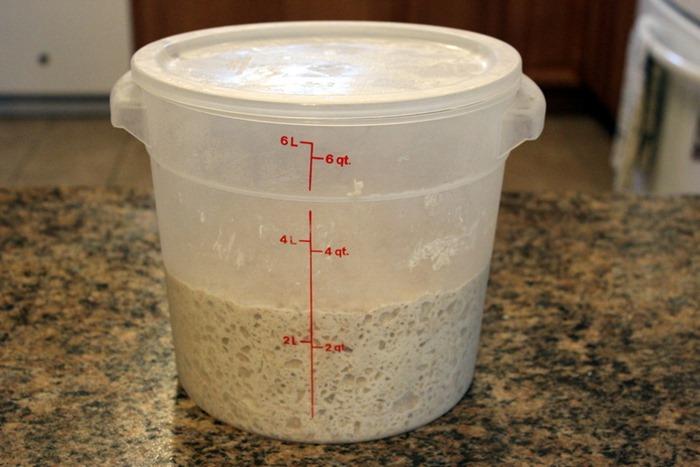 KAF dough rising bucket