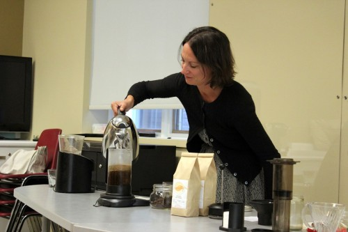 Getting Educated About Coffee at the Learner's Lab