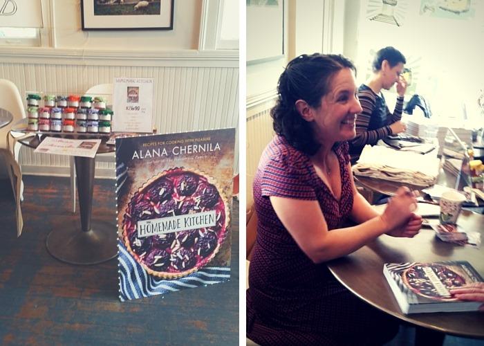 Alana Chernila book launch event