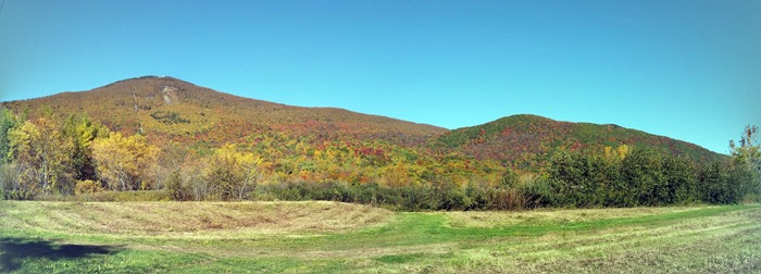 Berkshire foliage panorama 2015
