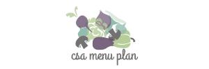 CSA Menu Plan