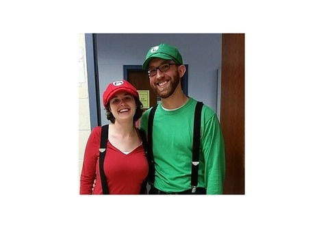 Halloween 2015 Mario and Luigi