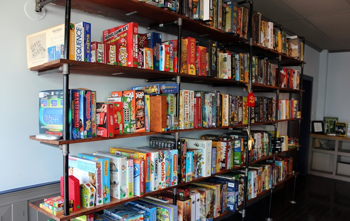 The Castle Beverly board game library