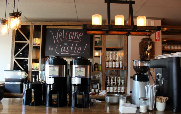The Castle Beverly coffee bar