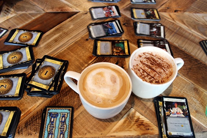 coffee and Dominion at The Castle Beverly