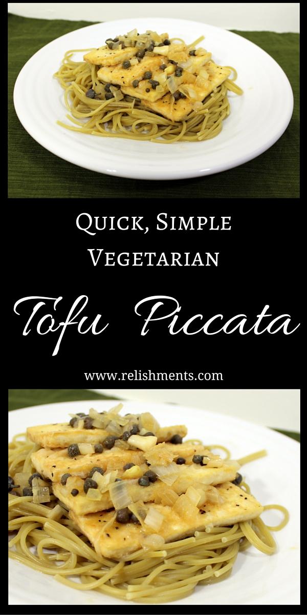 pinnable Vegetarian Piccata image